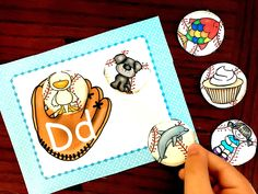 Is your child a fan of baseball? This baseball alphabet beginning sound sort will help your child with vocabulary, beginning sounds, and letter recognition. Letter Sound Games, Alphabet Activities, Preschool Learning Activities, Preschool Math, Teaching Resources, Kindergarten, Letter E Worksheets, Baseball Letters, Apps For Teachers