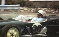 Stirling Moss Lotus 18 GP Monaco 1961