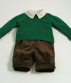 Yorkshire Lambswool Boy's Sweater and by patriciasmithdesigns