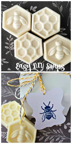 DIY Scented Bee Soap