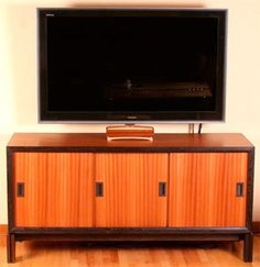 Modern Console for a Large-Screen TV (Digital Plan) $12.95