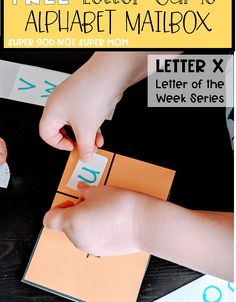 Letters For Kids, Letter Of The Week, Super Mom, Mailbox, Alphabet, Cards Against Humanity, God, Lettering, Dios