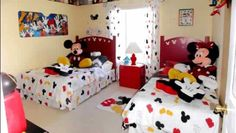 Mickey Mouse and Minnie Mouse theme