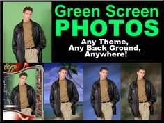 photo booth/ green screen