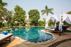 Check out this awesome listing on Airbnb: Navutu Dreams Resort & Spa - Villas for Rent in Siem Reap, Cambodia