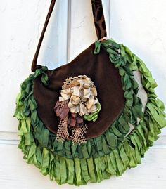 Gypsy Vagabond Boho Bag by gypsyfishstudio on Etsy