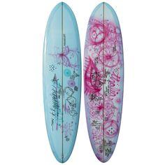 """Surfboards by Travis Reynolds 7'6"""" Egg Surfboard"""