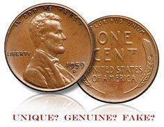 Controversial 1959-D Lincoln Cent with Wheat Ears Reverse to be Sold at Goldbergs Pre Long Beach Coin Auction : Coin Collecting News