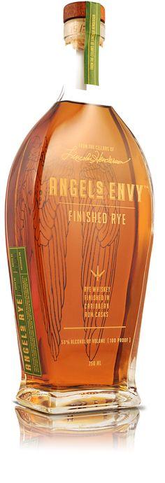 Angel's Envy Rum Finished Rye Bourbon (Engraved Bottle).Bourbon Goes Rye.  spiritedgifts.com