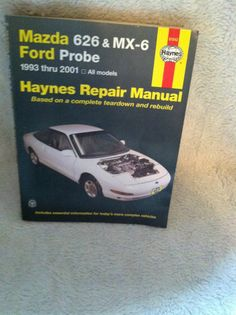 Mazda mx 6 ls interior slide 3 mazda mx 6 pinterest mazda mx mazda 626 mx 6 ford probe 1993 thru 2001 haynes repair manual teardownrebuild fandeluxe Images
