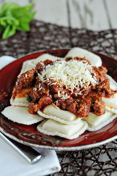 Paula Deen's ravioli