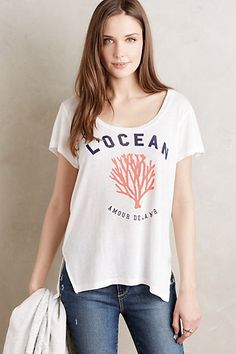 L'Ocean Tee #anthropologie