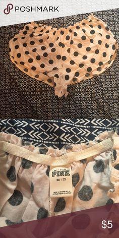 Polka dot Pj bottoms PINK polka dot Pj bottoms size XS PINK Victoria's Secret Intimates & Sleepwear Pajamas