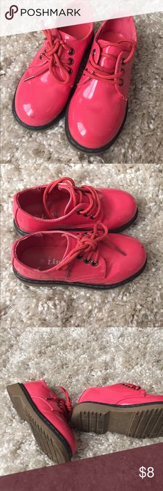 Little girl size 10 shoes Like new , just a small mark as seen on the picture Shoes Dress Shoes