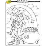 11 St. Patrick's Day coloring pages for kids to enjoy!  | crayola.com