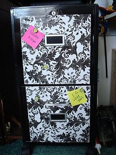 Cute filing cabinet redo
