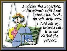 "Maxine on ""Self Help""."