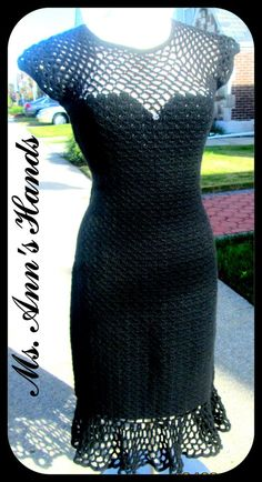 100% CASHMERE WITH OVER 200 HAND SEWN SWAROVSKI CRYSTALS -- OPEN MESH FRONT AND BACK WITH MATCHING CLUTCH BAG
