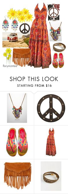 """""""Style For Your Ride"""" by florymcintee ❤ liked on Polyvore featuring Avenue, Dot & Bo, Valentino, Frank Usher and SUSU"""
