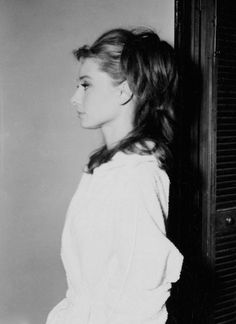 Audrey Hepburn hair test shots for Breakfast at Tiffany's, 1961