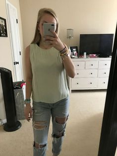 0713d2640b6ee FOREVER 21 Mint Green TANK TOP - MEDIUM  fashion  clothing  shoes   accessories