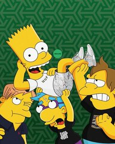 Bart & Homer Simpson Get Imagined as Sneakerheads in New Illustrations*~ Homer Simpson, O Simpson, Simpson Wallpaper Iphone, Cartoon Wallpaper, Cool Wallpaper, Panda Wallpapers, Dope Wallpapers, Iphone Wallpapers, The Simpsons