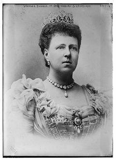 Dowager Duchess of Saxe-Coburg and Edinbugh, Grand Duchess Maria Alexandrovna of Russia, who was married to Alfred, Duke of Saxe-Coburg and Gotha (also the Duke of Edinburgh)