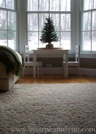 Looks like mine and Dave's  first Christmas tree.