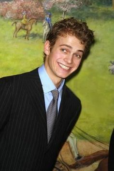 Hayden Christensen when he was 18.Fake sence of the old western days.He not fit for that.