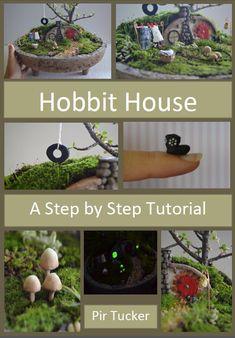 Miniature Hobbit Gnome House Garden PDF house by PinkyDinkyDesigns, $7.99. How Cute!!!