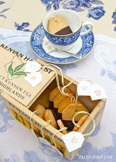 Paleo Tea Cookies