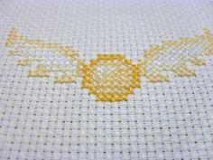 Golden Snitch Cross Stitch | Golden Snitch | Flickr - Photo Sharing!