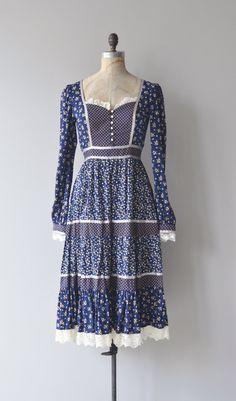 Gunne Sax dress vintage 70s prairie dress vintage by DearGolden