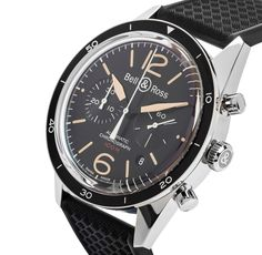 Bell & Ross Vintage Mens Watch BR126 SPORT HERITAGE