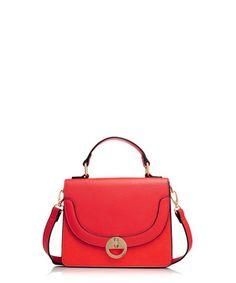 Molly red twist lock cross body bag Sale - Dune Sale