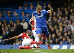 Andre Schurlle with Wilson Palacios #CFC