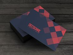 Love the geometric design yet simplicity of these cards. I'd change the colors used. :-)
