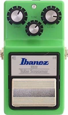 "There's a reason most guitar players own an Ibanez TS9 Tube Screamer Distortion Pedal, with incredible drive and bite this pedal is a must have for anyone.  With its super warm, natural overdrive tone, the original TS9 is the most sought-after distortion pedal in the guitar-playing world. Billed as ""the re-issue that isn't"", the new TS9 Tube Screamer is being built in the same factory, using the same components as the hard-to-find, original TS9. It's the favorite for guitar"