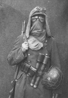 World War II in Pictures — Unidentified German soldier