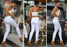 According to a new report, Nicole Murphy is allegedly completely broke - and is desperate to find a wealthy man to fund her extravagant lifestyle. Nicole Murphy Hair, Corps Parfait, Paparazzi Photos, Black Goddess, All White Outfit, Ageless Beauty, Beautiful Black Women, Sexy Outfits, Straight Hairstyles
