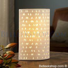 The Belleek Shop Belleek Pottery, Design Elements, Ireland, Table Lamp, Gift Ideas, Contemporary, Lighting, Home Decor, Elements Of Design