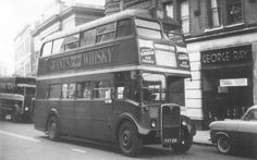 Route 96 from Putney to Wanstead and Redridge Station circa 1954 Rt Bus, Routemaster, Double Decker Bus, Bus Coach, London Bus, London Transport, Busses, Coaches, Over The Years