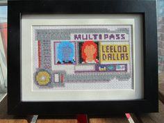 Cross Stitched Leeloo Dallas Multipass