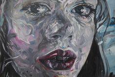 Fred Calmets, Face 008, serie Face 000, 130 cm X 195 cm, 2011, ©