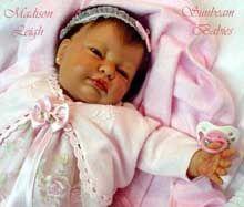 Meet my Madison - reborned by Sunbeam Babies Nursery (me) ;-)