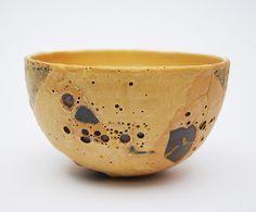 Ceramist Chloe Peytermann (French: 1982) - Gold ocher and web