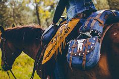 Comancheros is a western trademark which can create custom saddlebags ,custom  leather chaps everything with italian leather and design.