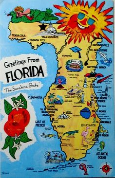Florida...where I used to live...too hot but a beautiful place with my beautiful family :)