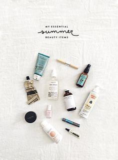 Primp & Wear: My Summer Beauty Essentials Clean Beauty, Diy Beauty, Natural Beauty, Beauty Makeup, Beauty Hacks, Beauty Care, Beauty Tips, Beauty Essentials, Summer Essentials