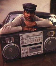 Straight Old School. Look at that boom box!